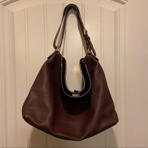 Mulberry hobo bag burgundy Tessie Oxblood